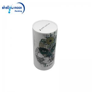 Color printed paper tube